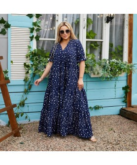 Платье Ларнака (синий) 2206211