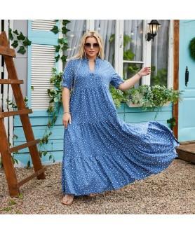 Платье Ларнака (джинсовый) 2206212