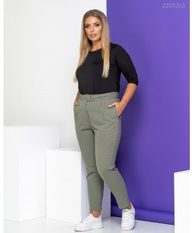 Женские брюки Брюки №2 (хаки) 2209203