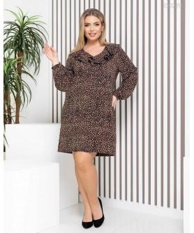 Платье Биоко (чёрный) 2302211