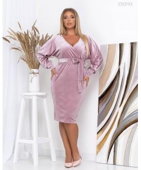 Платье Эм (фрезовый) 2312193