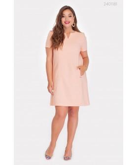 Платье Кери (абрикосовый) 2401181
