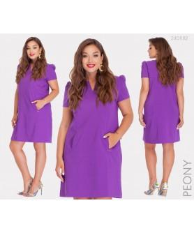 Платье Кери (сиреневый) 2401182