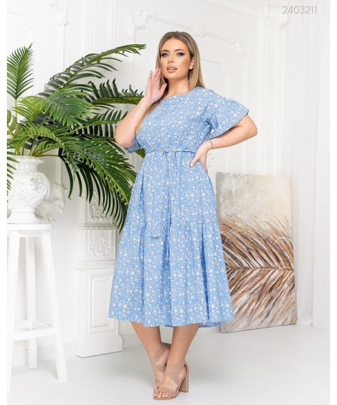 Платье Гоа (голубой) 2403211