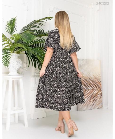 Платье Гоа (черный) 2403212