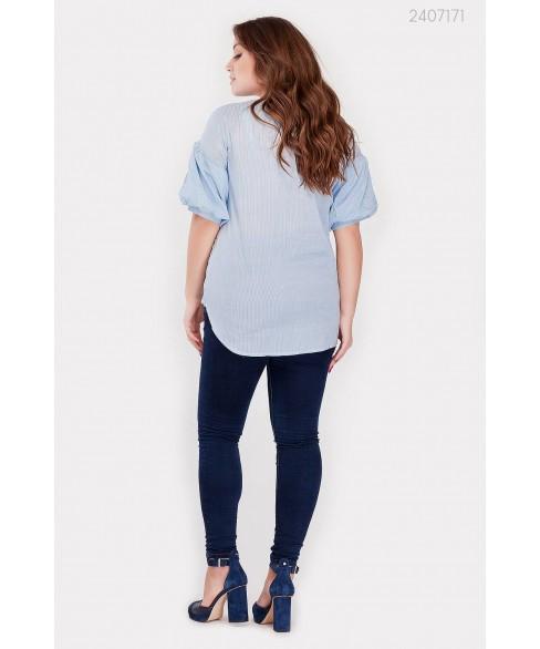 Блузка Ливадия-1 (голубой) 2407171