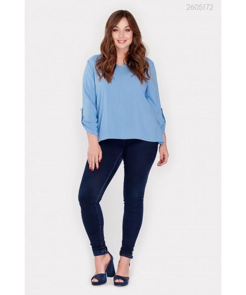 Блузка Кайман (голубой) 2605172