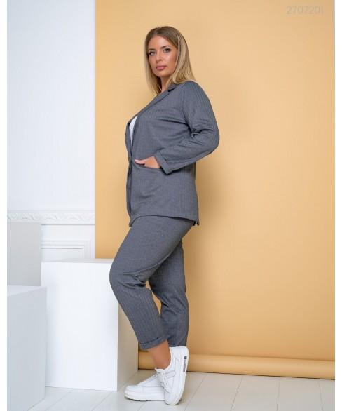 Женский костюм Сплит (серый) 2707201
