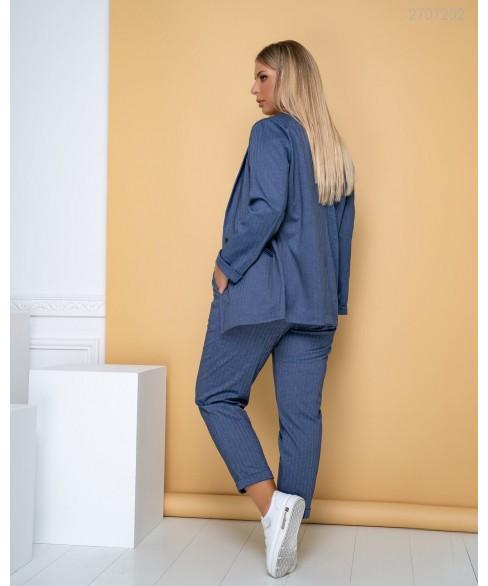 Женский костюм Сплит (синий) 2707202