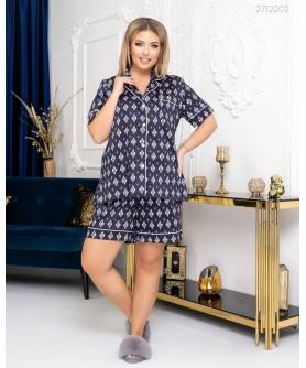 Одежда для дома и сна Пижама №5 (синий) 2712202