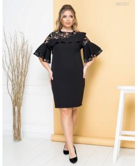 Платье Тучели (чёрный) 2811201