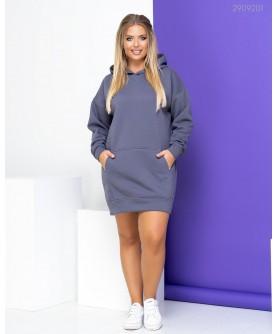 Платье Спорт - шик №18 (серый) 2909201