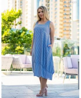 Платье Искья (синий) 3004201