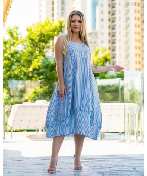 Платье Искья (голубой) 3004202