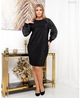 Платье Ивиса (чёрный) 3010201