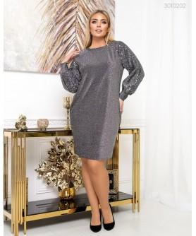 Платье Ивиса (графит) 3010202