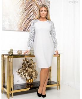 Платье Ивиса (серебряный) 3010203