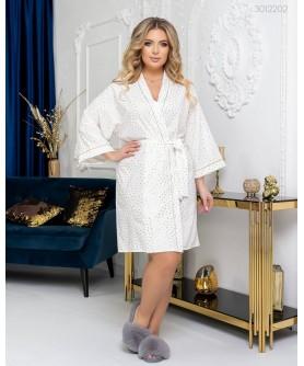 Одежда для дома и сна Халат №2 (айвори) 3012202