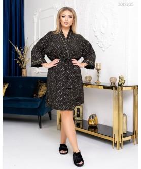 Одежда для дома и сна Халат №2 (чёрный) 3012205