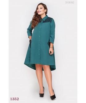 Платье Измит-1 (изумрудный) 3108182