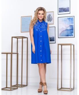 Платье Мармарис (электрик) 0904171