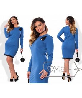 Платье Руан (голубой) 0611162