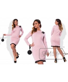 Платье Руан (пудра) 0611163