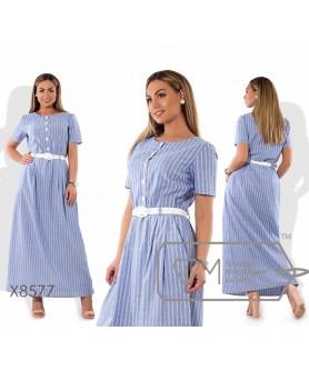 Платье Соната-1 (голубой)