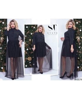 Платье Сурабая (чёрный)