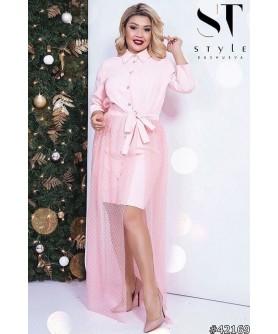 Платье Сурабая (розовый)